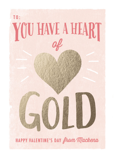 valentine's day - Heart of Gold by Karidy Walker