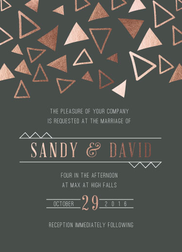 wedding invitations - Deco Decor by Ilana Griffo