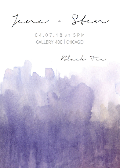 wedding invitations - Gotham Gallery by Addie Kay