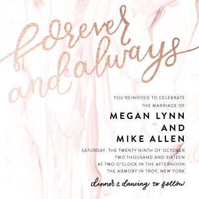 wedding invitations - Sweet Marble by Ilana Griffo