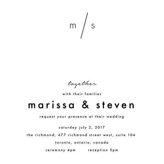 wedding invitations - Modern Love by Tiffany Wong
