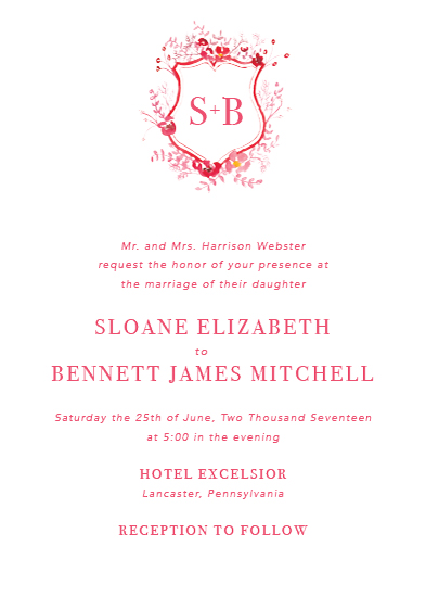 wedding invitations - Regal by Brydon Holsey
