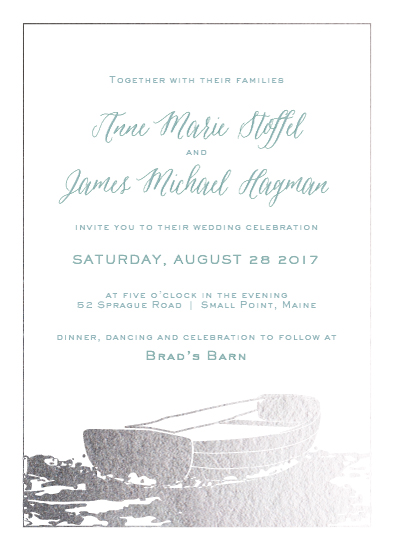 wedding invitations - LoveBoat by Brydon Holsey