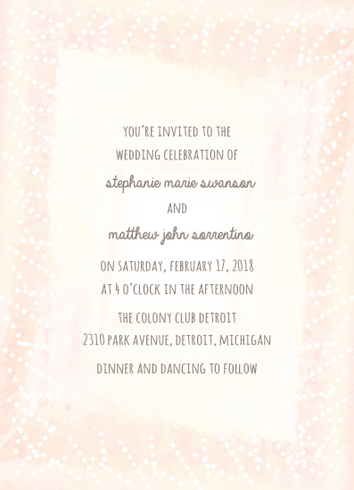 wedding invitations - Whimsy Watercolor by The Paper Proposal
