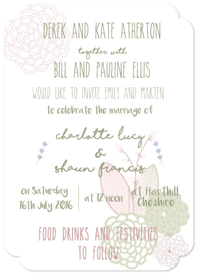 wedding invitations - Cheshire Love by Emily Atherton