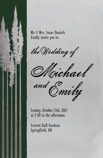 wedding invitations - Gilt Redwood by Darren Bechtel