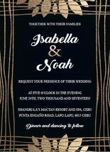 wedding gold foil by Onie