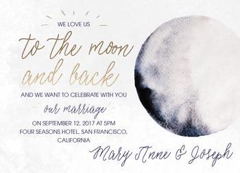 Wedding to the moon