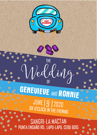 wedding invitations - The Wedding Car by Onie