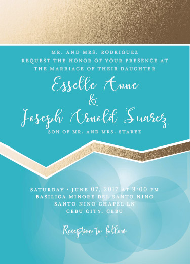 wedding invitations - Aqua wedding concepts by JoycesRoses