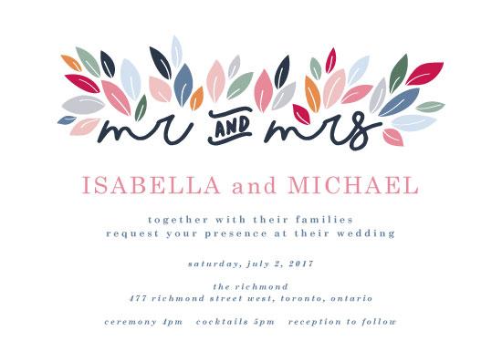 wedding invitations - Autumn Summer by Tiffany Wong