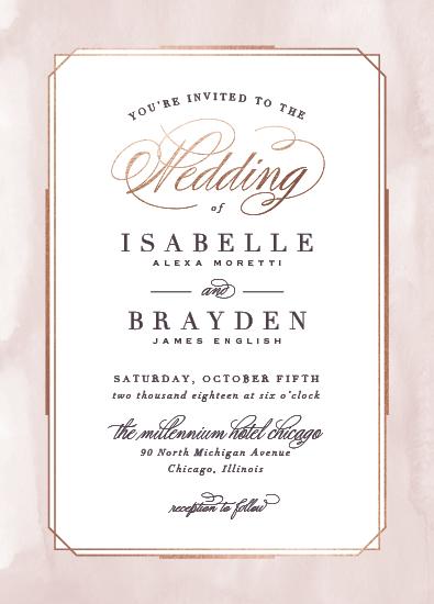 wedding invitations - Forever Elegant by Hooray Creative