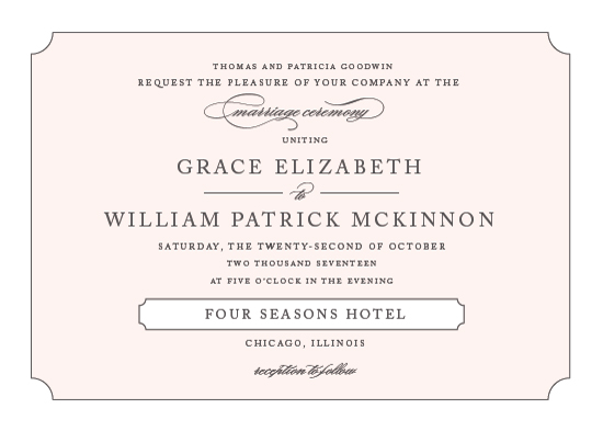 wedding invitations - Subtly Sweet by Kimberly FitzSimons