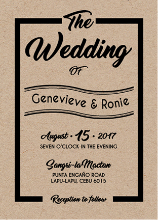 wedding invitations - WEDDING CARD by Onie