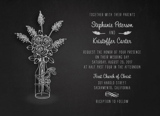 wedding invitations - All Chalked Up by ashnee eiram