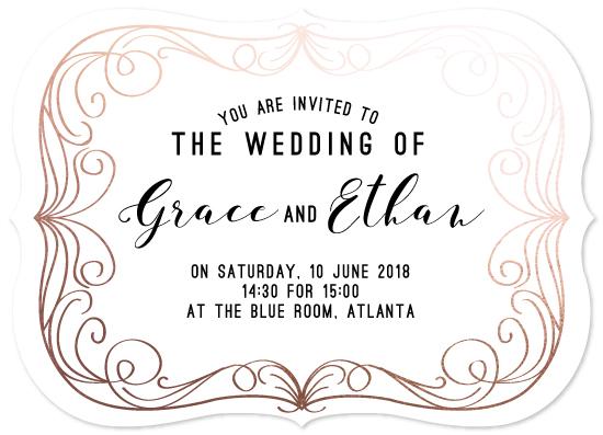 wedding invitations - Old Movie House by Zani