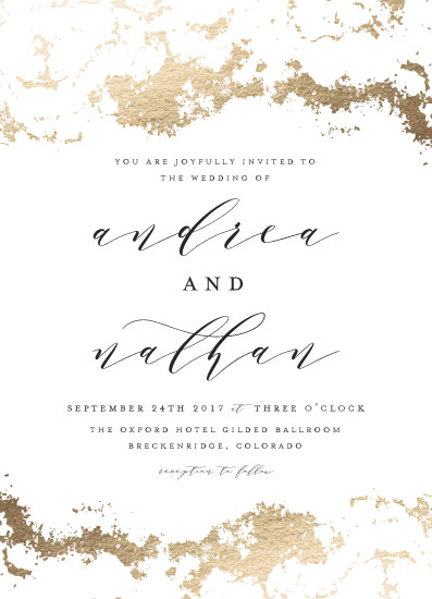 wedding invitations - Aerial by Grace Kreinbrink