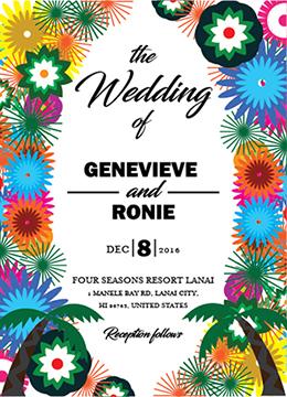 wedding invitations - Forest Wedding by Onie