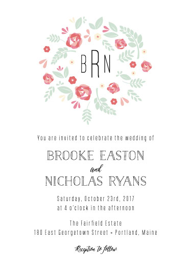 wedding invitations - Charmed by ashnee eiram