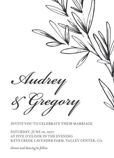 wedding invitations - My Fair Wedding by Danielle Romo