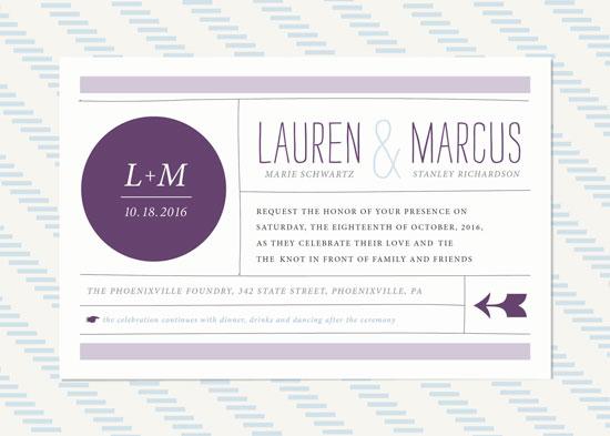 wedding invitations - Quinn Wedding Invitation by Monica Gussow