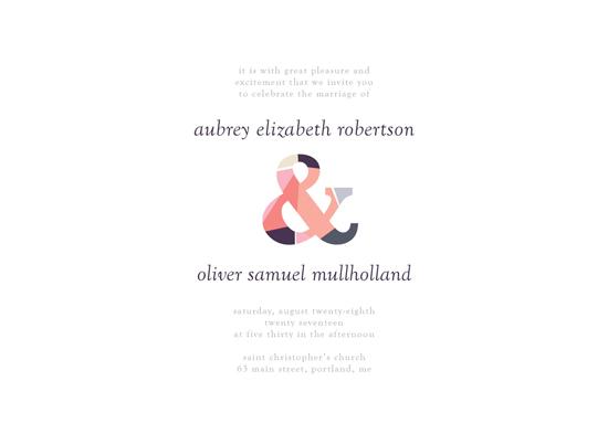 wedding invitations - Astrid Wedding Invitation by Monica Gussow