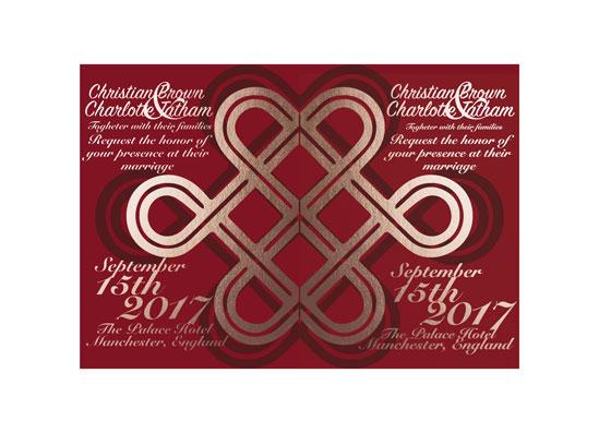 wedding invitations - Wedding Fusion by Jacky Ruiz