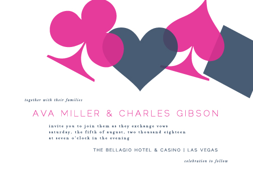 wedding invitations - Vegas by Lauren Chism