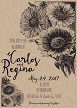 Sunflower Wedding Invit... by Printaholics