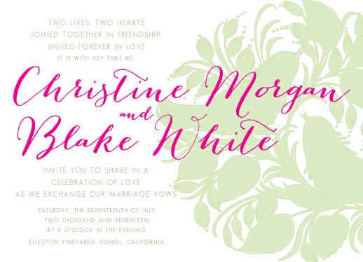 wedding invitations - Spring Lovebirds by Sarah Tarantino