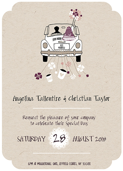 wedding invitations - love beetle by michael cheung