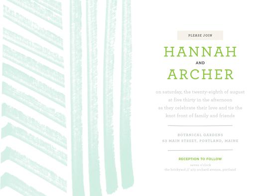 wedding invitations - Hannah Wedding Invitation by Monica Gussow