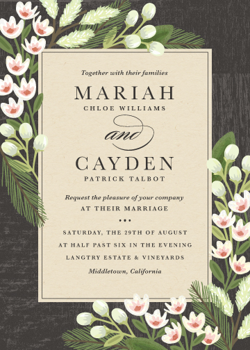 wedding invitations - Rustic Ranch by Griffinbell Paper Co.