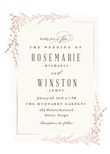 wedding invitations - positano by chocomocacino
