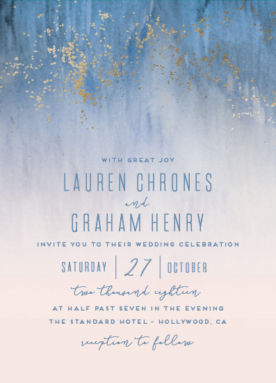wedding invitations - Midsummer Night by Kaydi Bishop