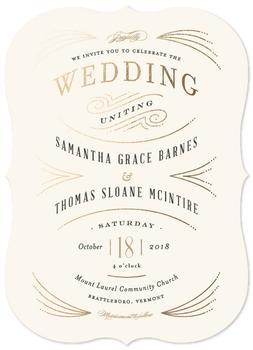 Arched wedding