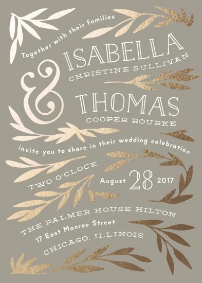 wedding invitations - Wonderland by Laura Hankins