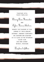 Modern Stripe Invitatio... by The Paper Proposal