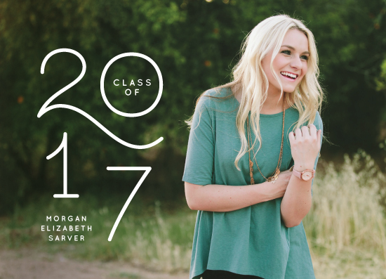 graduation announcements - My year by Lea Delaveris