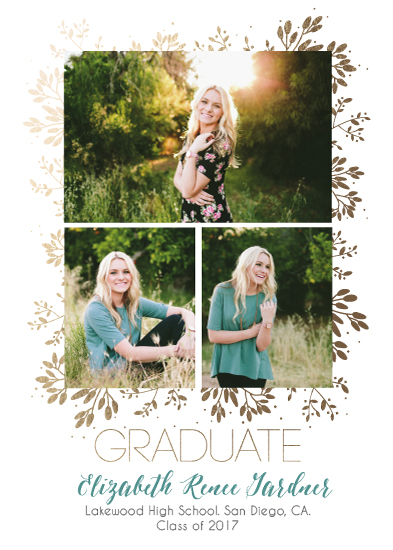 graduation announcements - Whimsical Grad by Korry Brown