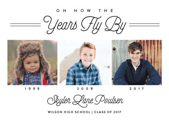 graduation announcements - The Years Fly By by Amy Payne