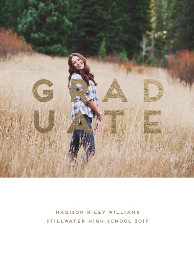 graduation announcements - Our Graduate by Susan Brown