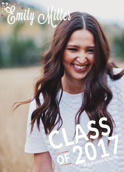 graduation announcements - Class Highlight by Landan Rivers