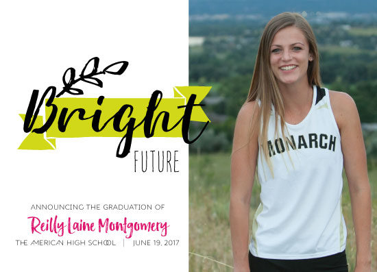 graduation announcements - Sporty by jeanne smith