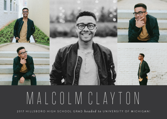 graduation announcements - sharp by Sara Hicks Malone