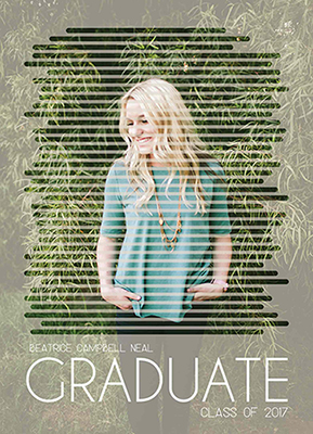 graduation announcements - photo effect by DiRed