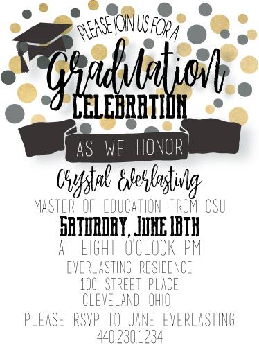 graduation announcements - Shine Bright by Rachel Kovach