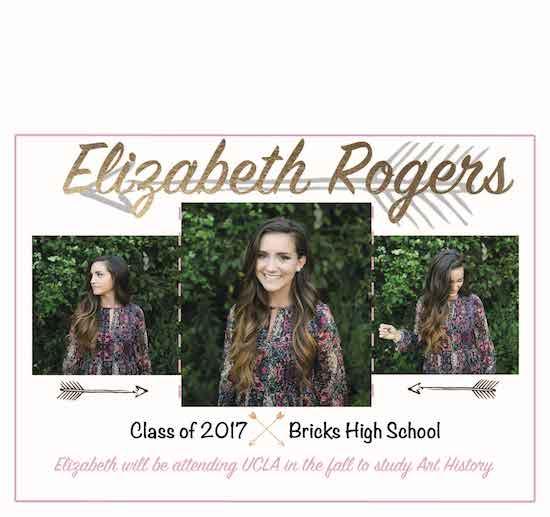 graduation announcements - Elizabeth Rogers by Ashley Gillis