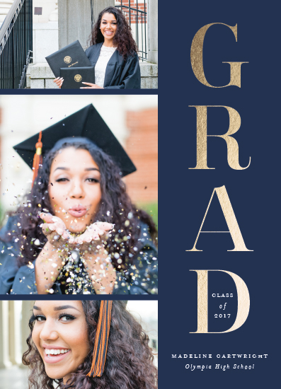 graduation announcements - Classic stack by Stacey Meacham