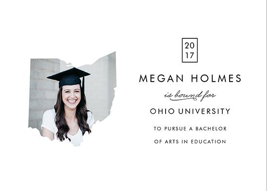 graduation announcements - Destination University by Cheer Up Press